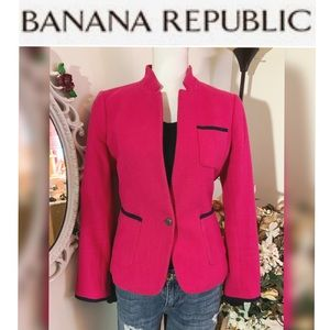 Banana republic hot pink Blazer